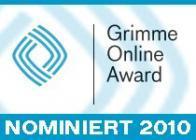 Grimme Online Award nominiert 2010